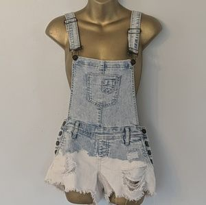Ymi overalls tyle dye dipped size 7